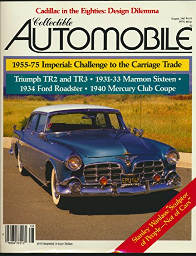 le: Triumph TR2 and TR3 A Sportscar Standard; 1955-1975 Chrysler Imperial; The Marmon Sixteen; 1934 Ford Deluxe Roadster; 1940 Mercury Club Coupe ( 1987 Journal) ()