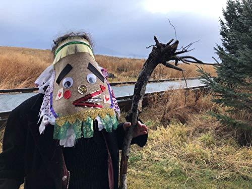 Cajun Fringe Costume, Courir de Mardi Gras