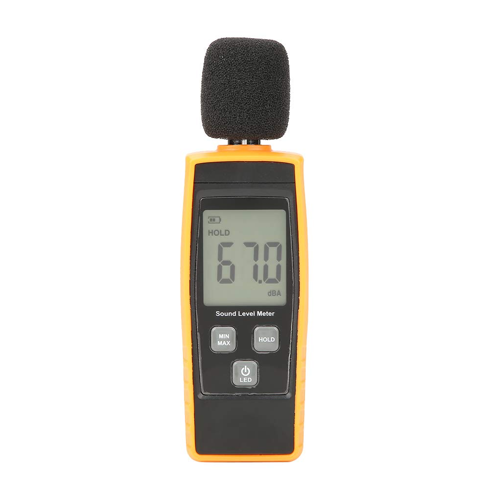 GM1359 Digital LCD Mini Sound Level Meter DB Meter Environmental Noise Tester for Noise Pollution Monitoring//Home Theater Setup//Health and Safety Compliance//Vehicle Noise Testing Noise Tester