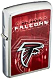 Zippo NFL Atlanta Falcons Street Chrome Pocket Lighter