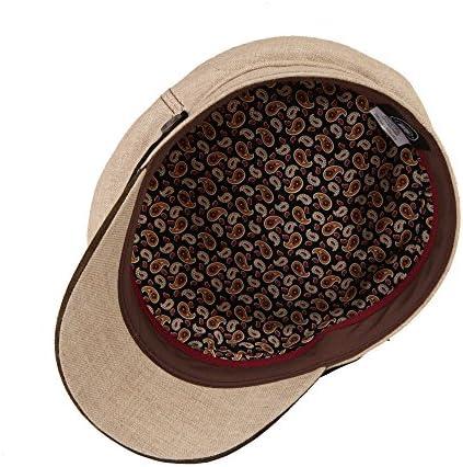 LaBoca Spitfire Brando Summer Linen Cap for Men