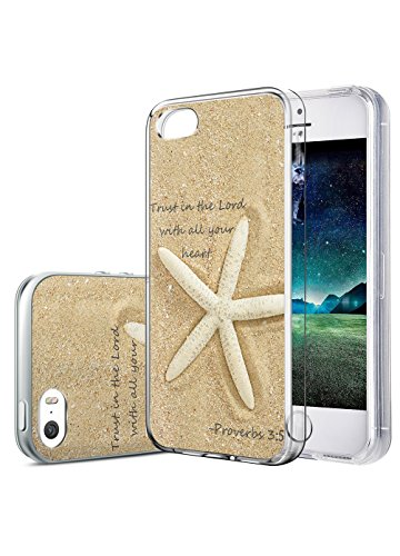 Quote Iphone 5 5s Case Trust In The Lord With All Your Heart By Proverbs 3:5 OUO Hard Snap On Plastic Case Perfect Fit