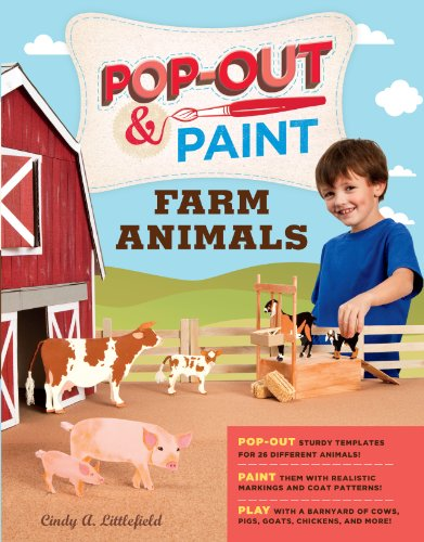 Pop-Out & Paint Farm Animals