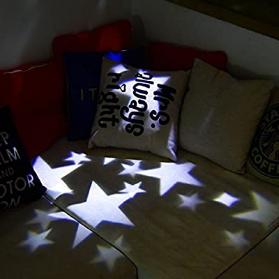 Christmas Projector Lights Indoor,Waterproof LED Snowflake Landcape Lights For Christams,Halloween,Indoor,House,Holiday,Party Wall Decoration RGB Light