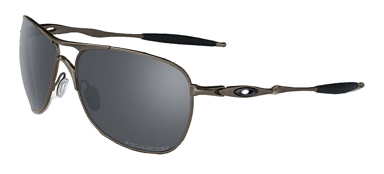6b911bac238 Oakley Crosshair Sunglasses (Titanium Frame Polarized Black Mirror Lens)   Amazon.co.uk  Shoes   Bags