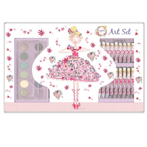 [Daisy Patch Art Set - Pretty in Pink] (Toddler Angelina Ballerina Costumes)