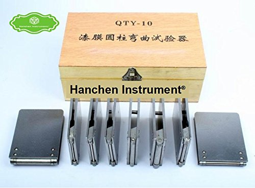 Film Cylindrical Bending Test of QTY-10A Type Flexible Tester Cylinder Test Instrument paint film by Hanchen Instrument®