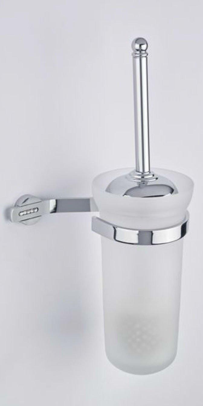 porta scopino a muro accessori wc bagno made in italy ellisse ... - Arredo Bagno Swarovski