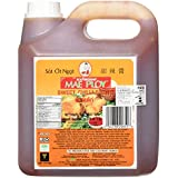Mae Ploy Thai Sweet Chilli Sauce (8.8 Pounds Total 108oz) Huge Jug Versatile Dipping Sauce