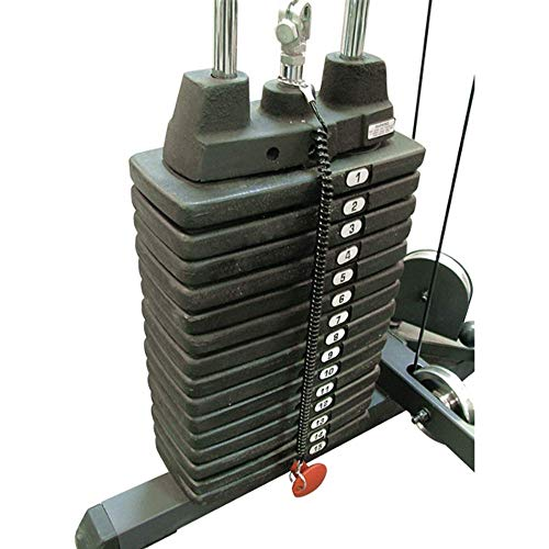 Body-Solid Weight Stack (SP150), 150 Pounds