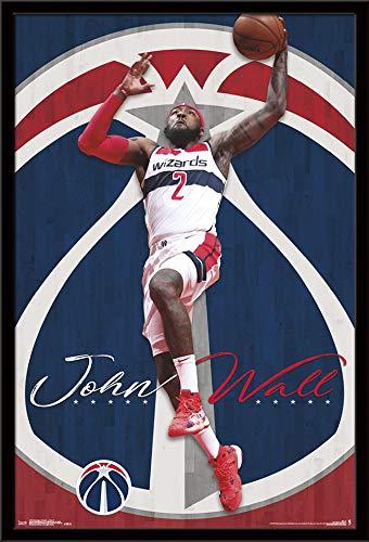 Trends International Washington Wizards-John Wall Poster, 24.25
