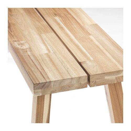 Amazon.com: IKEA Banco, madera de acacia, 826.292329.2230 ...