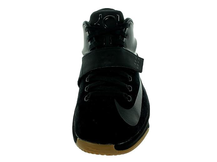 new arrival 77263 2da33 Amazon.com   NIKE KD 7 VII EXT QS Suede Kevin Durant 717593-001 Black Gum  Bottom Men s Shoes (Size 7.5)   Shoes