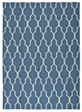 """Cheap Nourison Home & Garden (RS087) Navy Rectangle Area Rug, 7-Feet 9-Inches by 10-Feet 10-Inches (7'9″ x 10'10"""")"""