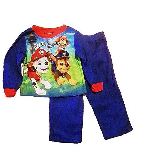 Custom Bundled Products Paw Patrol Toddler Boys Pups to The Rescue Pajama Set Plus Awesome Smile Set