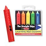 MELISSA & DOUG LEARNING MAT CRAYONS (Set of 50)