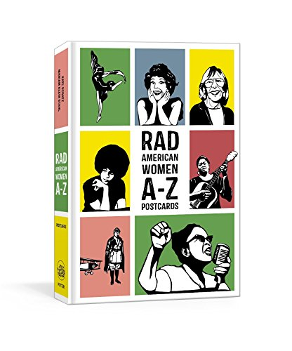 Rad American Women A-Z Postcards (Rad Women) by Clarkson Potter (Image #1)
