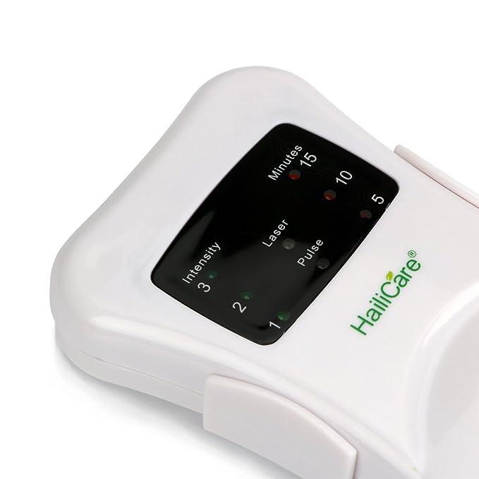 HailICare Tratamiento de Rinitis Fototerapia Dispositivo Anti Alergico Terapia Tratamiento Masajeador para Congestión Nasal Prurito Nasal Cura Sinusitis: ...