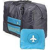 旅行バッグ ボストンバッグ Abestbox® 折りたたみ スーツケースの持ち手に通せる 予備バッグ トラベルバッグ 超軽量 大容量 防水 バッグ フォールディングバッグ 旅行