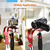 Dtemple Handheld Video Camera Stabilizer Steady for GoPro Canon Nikon Lumix Pentax and Other DSLR SLR