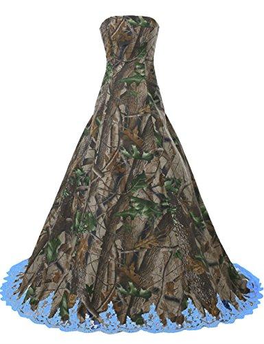 Camo Green Bridesmaid Dresses Fashion Dresses