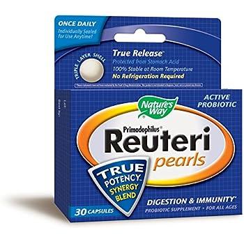 Amazon Com Nature S Way Primadophilus Reuteri Pearls 30