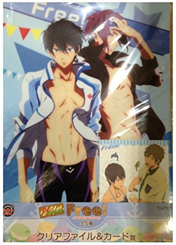 [Free! Lottery much & Rin Clear File New From Japan] (Funny Pop Culture Costume Ideas)