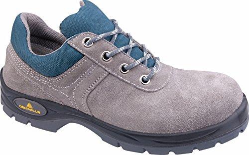 Delta plus calzado - Juego zapato serraje aterciopelado poliuretano gris/azul talla 36(1par)