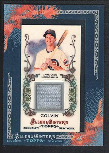 (BIGBOYD SPORTS CARDS Tyler Colvin 2011 Topps Allen & GINTER #AGRTC Game Jersey Chicago Cubs SP)