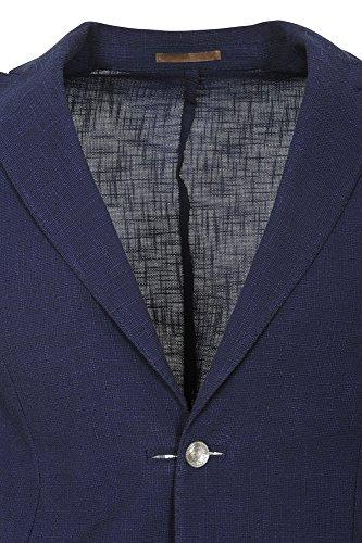 Homme Blazer Solo Veste Coupe Slim Bleu Eleventy 50 5aSOq