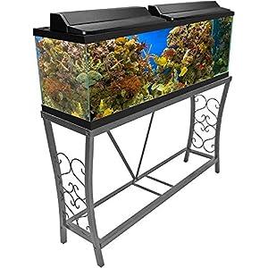 Aquatic Fundamentals 55-gallon Metal Aquarium Stand