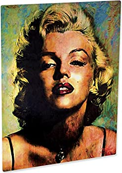Marilyn Monroe art print wall decor painting incredible artwork by Mark Lewis Art - immm - signed collectible