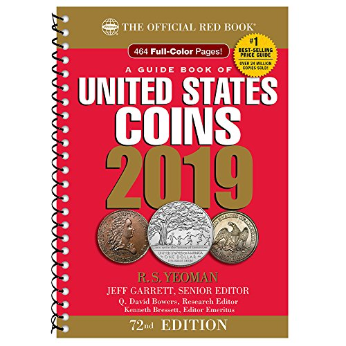 2019 Official Red Book of United States Coins - Spiral Bound (Guide Book of United States Coins)