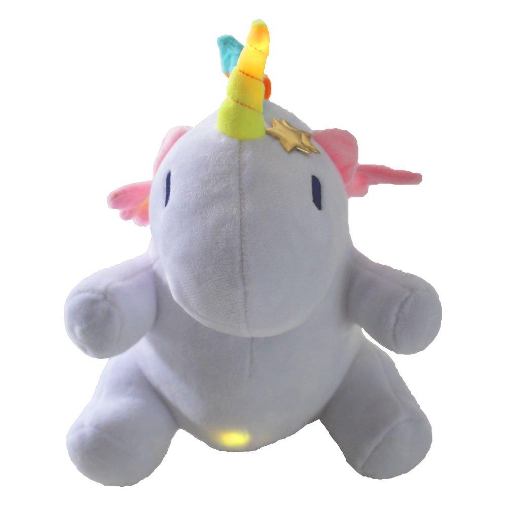 Missley unicornio LED suave unicornio decoración almohada unicornio de peluche para bebés: Amazon.es: Juguetes y juegos