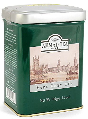 3 Tins Loose Leaf Ahmad Earl Grey Tea in 3.5oz/100g
