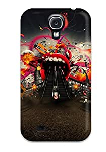 LLOYD G ENGLISH's Shop 4628814K19445337 Protective Tpu Case With Fashion Design For Galaxy S4 (abstract)