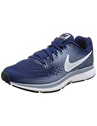 Nike Women's Air Zoom Pegasus 34 Binary Blue/White/Glacier/Grey Running Shoe 7.5 Women US