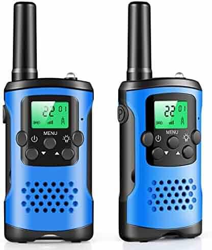 walkie talkies for kids, 22 Channel 2 Way Radio 3 Mile Long Range Kids Toys & Handheld Kids Walkie Talkies, Best Gifts & Top Toys for Boy & Girls Age 3 4 5 6 7 8 9 For Outdoor Adventure Game