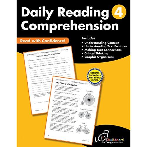 Daily Reading Comprehension Grade 4 (Chalkboard Publishing Workbooks)