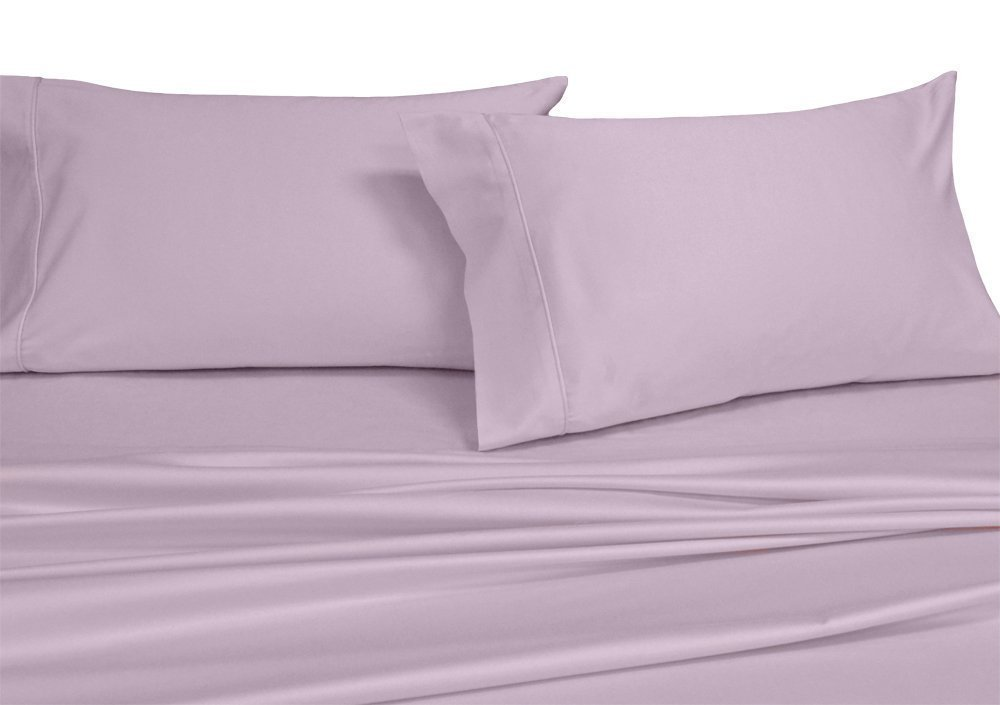 Royals Solid White 250 Thread Count 3pc Twin Extra Long Bed Sheet Set  100 Percent Cotton, ...