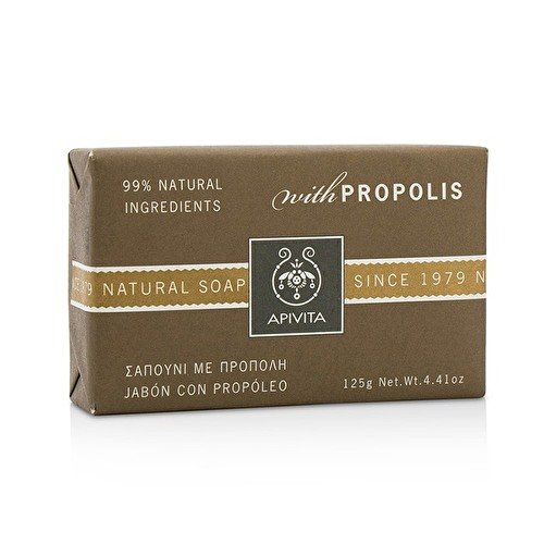 Apivita Natural Soap With Propolis, 4.41 Ounce by Apivita