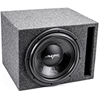 Skar Audio Single 12 1500 Watt Subwoofer Package - Includes 12-Inch DDX Series Dual 2 Ohm Subwoofer in Ported Box
