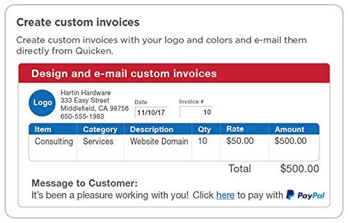 Amazoncom Quicken Home Business Month Personal Finance - Quicken invoice