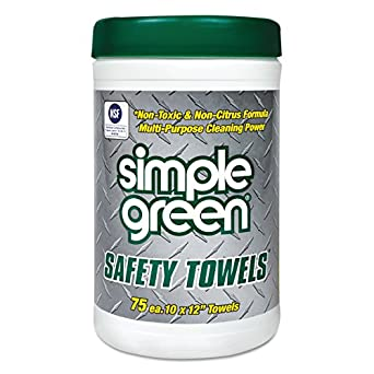 Amazon.com: Simple Verde Multipurpose Paños de limpieza, 75 ...
