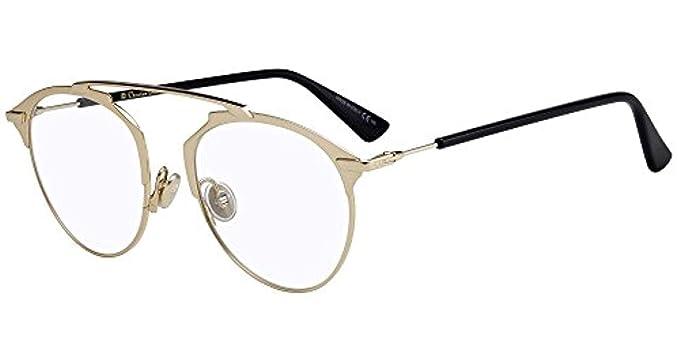 53277e2188324e Lunettes de Vue Dior DIOR SO REAL O GOLD unisexe  Amazon.fr ...