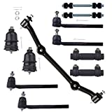 Scitoo 11pcs Outer Inner Tie Rod End Adjusting Sleeves Lower Ball Joint Front Sway Bar Center Link for 2WD 96-03 Chevrolet S10 Pickup 96-01 GMC Jimmy S-15 96-04 GMC S-15 Sonoma
