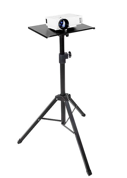 Mount-It! Soporte para proyector de trípode, soporte ajustable ...