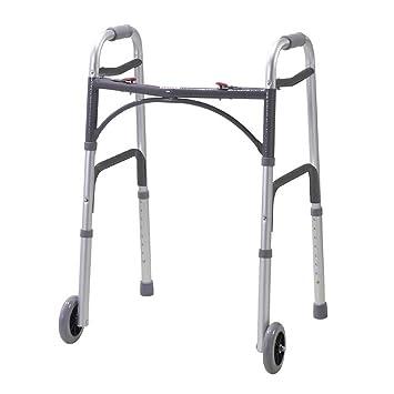NRS Healthcare - Silla de ruedas altura ajustable - Andador ...