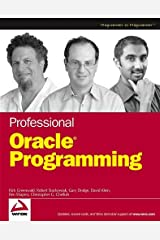 Professional Oracle Programming Paperback