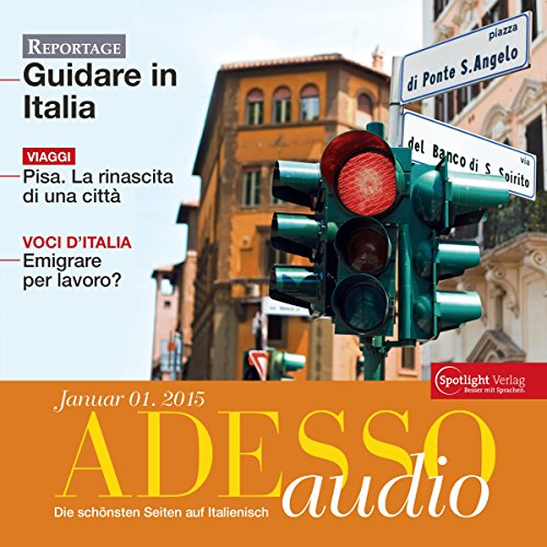 ADESSO audio - Pisa. 1/2015: Italienisch lernen Audio - Pisa
